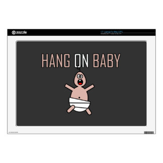 Hang on baby skins for laptops