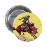 Hang On Cowboy Pins