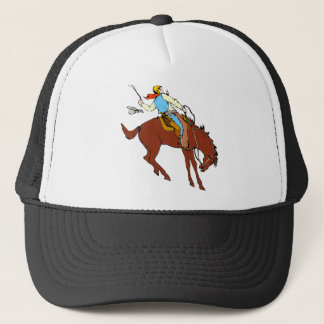 Hang On Cowboy Trucker Hat