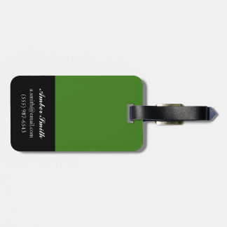 Hang on in there luggage tag