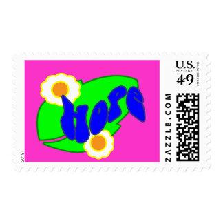 Hang on to Hope Postage Stamp