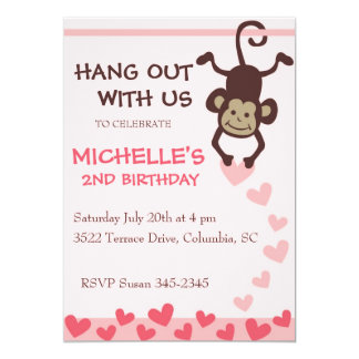 Hang Out Birthday Party Card