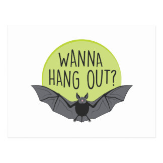 Hang Out Postcard