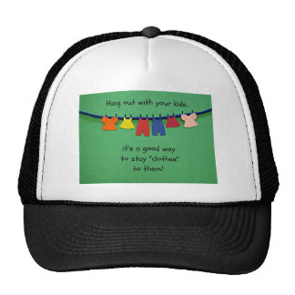 Hang out with your trucker hat