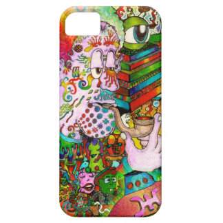 """""""Hang-Thinking Accident"""" original art by bbqshoes iPhone SE/5/5s Case"""