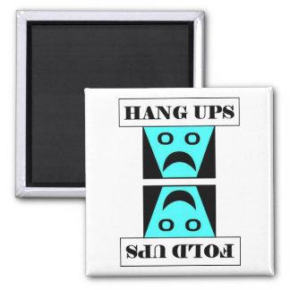 Hang Ups/Fold Ups - Laundry Refrigerator Magnet