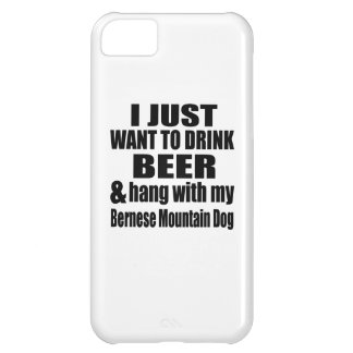 Hang With My Bernese Mountain Dog iPhone 5C Cover
