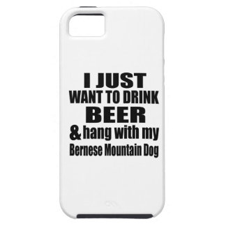 Hang With My Bernese Mountain Dog iPhone SE/5/5s Case