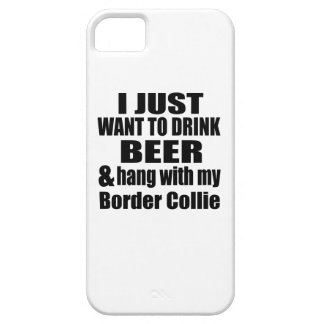 Hang With My Border Collie iPhone SE/5/5s Case