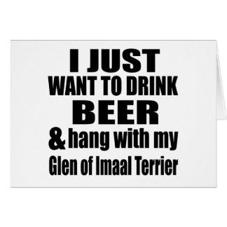 Hang With My Glen of Imaal Terrier Card