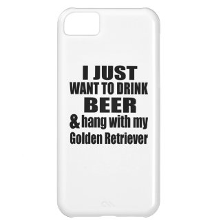Hang With My Golden Retriever iPhone 5C Cover