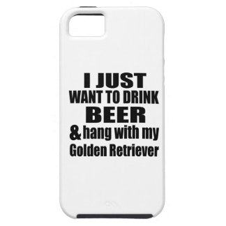 Hang With My Golden Retriever iPhone SE/5/5s Case
