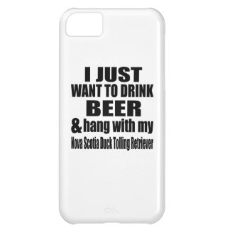 Hang With My Nova Scotia Duck Tolling Retriever Case For iPhone 5C