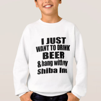 Hang With My Shiba Inu Sweatshirt