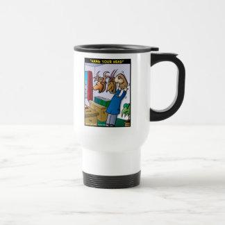 Hang Your Head Coffee Mugs