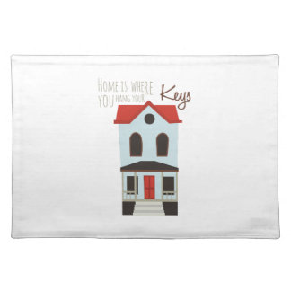 Hang Your Keys Cloth Placemat