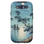 Hanga de la espinilla de la orilla de mar de Tsuch Galaxy S3 Carcasa
