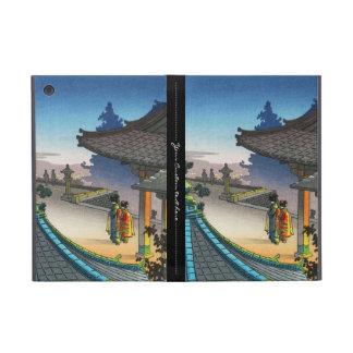 Hanga de la espinilla de la tarde del templo de iPad mini carcasa