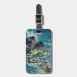 Hanga del waterscape del cabo de Kasamatsu Shiro I Etiquetas Para Maletas