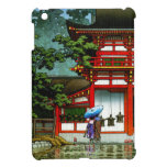 Hanga fresco de la espinilla de Nara Hasui Kawase  iPad Mini Protector