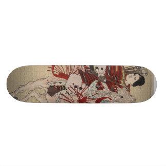 Hangakujo, Female Samurai circa 1885 Skateboard
