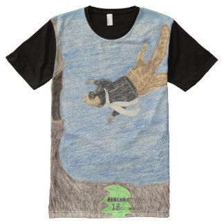 Hangar 18 All-Over print t-shirt