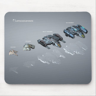 Hangar units mouse pad