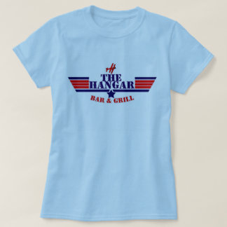hangar women standard blue T-Shirt