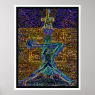 HANGED MAN on PREMIUM CANVAS Poster
