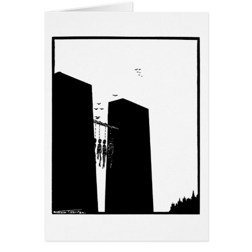 Hanged men's ballad (Ballade des pendus) Card