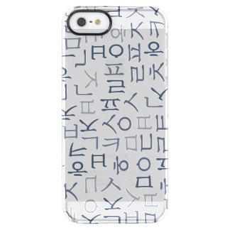 Hangeoul Clear iPhone SE/5/5s Case