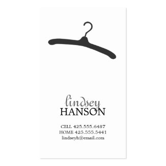 Hanger Calling Card Double-Sided Standard Business Cards (Pack Of 100)