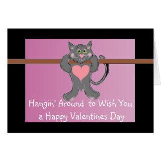 Hangin' Around Greeting Card