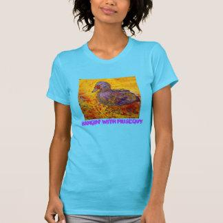 hangin con muscovy camiseta