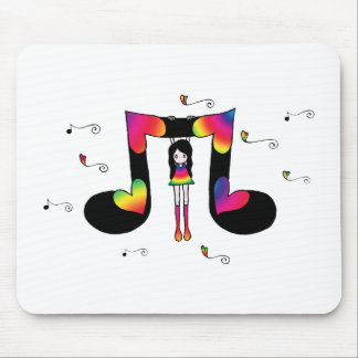 Hangin con música tapete de ratones
