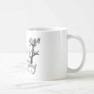Hangin en el transbordador de las hamacas tazas de café