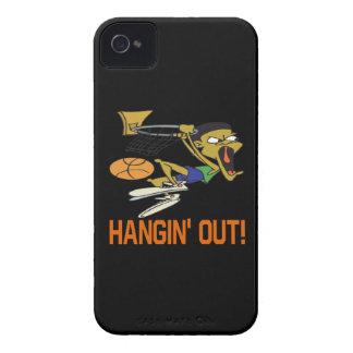 Hangin hacia fuera iPhone 4 Case-Mate cárcasas