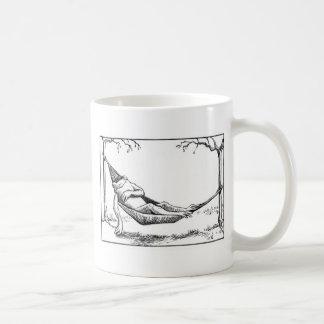 Hangin hacia fuera taza