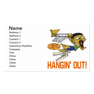 Hangin Out Double-Sided Standard Business Cards (Pack Of 100)