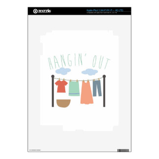 Hangin Out Decal For iPad 3