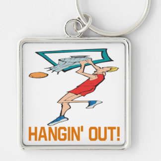 Hangin Out Key Chain
