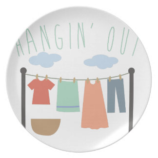 Hangin Out Plate