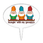 Hangin' With My Gnomies Cake Topper