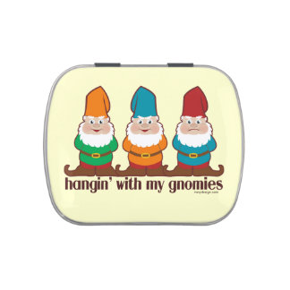 Hangin' With My Gnomies Candy Tin