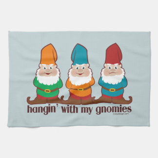 Hangin' With My Gnomies Kitchen Towels
