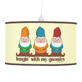 Hangin' With My Gnomies Hanging Pendant Lamp