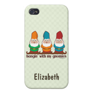 Hangin' With My Gnomies Personalize iPhone 4/4S Case