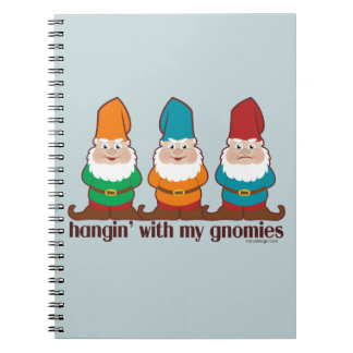 Hangin' With My Gnomies Spiral Notebook