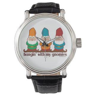 Hangin' With My Gnomies Wrist Watch