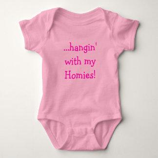 ...hangin' with my Homies! Baby Bodysuit
